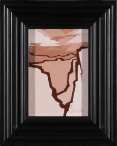 Sienna Mesas (framed)