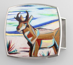 Antelope Buckle (Collaboration with Pat Pruitt)