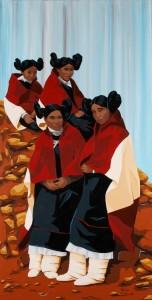 Four Hopi Maidens